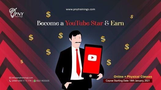 Become a YouTube Star & Earn (Arfa Tower) | Event in Gujranwala | AllEvents.in
