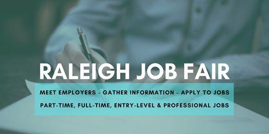 Raleigh-Durham Job Fair - August 18 2020 - Career Fair
