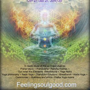 The Psychology of the Chakras 108 hrs Training Course