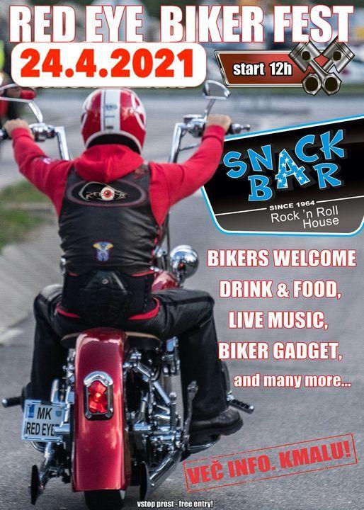 Red Eye BikerFest 2021 (otvoritev moto sezone), 24 April | Event in Grado | AllEvents.in