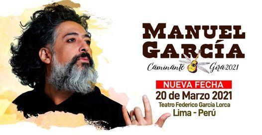 Manuel García en Lima, Perú / Caminante, 20 March   Event in Jesús María   AllEvents.in