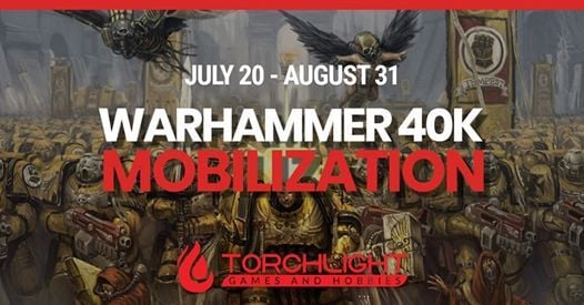 Warhammer 40K - Mobilization 2019 at Torchlight Games and