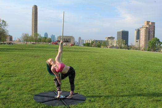 Polga (pole yoga) in the Park,Celebrating the Sunset & Full Moon!!, 20 October   Event in Prairie Village