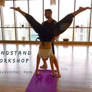 Handstand Workshop with Mika