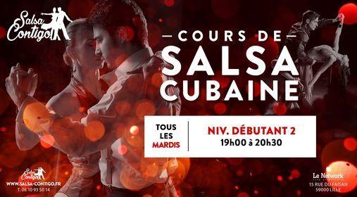 Cours de Salsa Cubaine niveau Dbutant 2