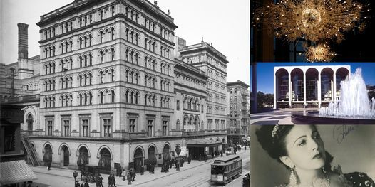 'The Metropolitan Opera: A History of Divas, Diamonds, & Drama' Webinar, 14 June | Online Event | AllEvents.in