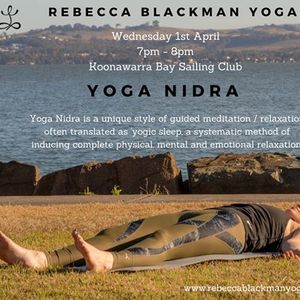 YOGA NIDRA - Wednesday Evening Relaxation - 1st April