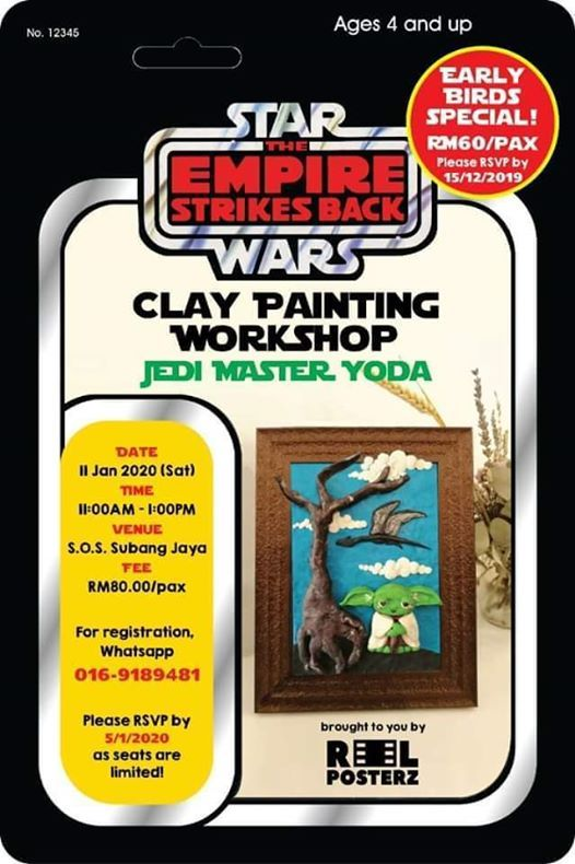 Clay Painting Workshop - Jedi Master Yoda