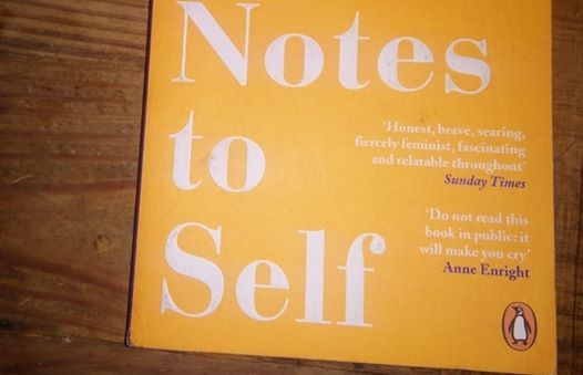 New readingwriting group Notes to Self (Emilie Pine)