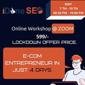 Be an E com Entrepreneur in 4 days