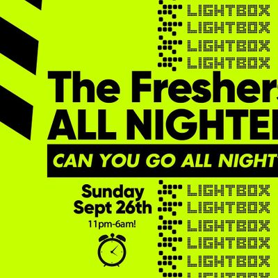 The London Freshers All Nighter at Lightbox London