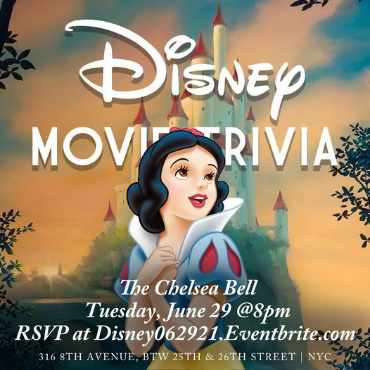 Disney Movie Trivia, 29 June | Event in New York | AllEvents.in