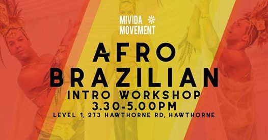 Intro to Afro Brazilian Workshop with Beto at My Little