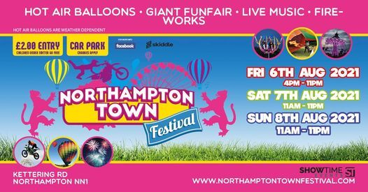 Northampton Town Festival 2021, 6 August | Event in Northampton | AllEvents.in