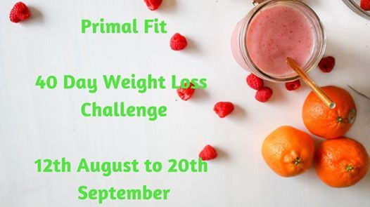 40 Day Challenge At Primal Fit