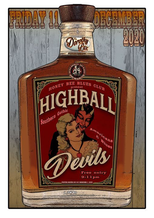 Highball Devils, 11 December | Event in Sheffield | AllEvents.in