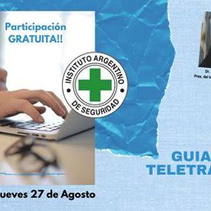 Presentacion de la Guia IAS para un Teletrabajo Seguro