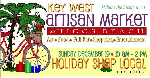 Key West Artisan Market: Holiday Shop Local, 19 December | Event in Key West | AllEvents.in