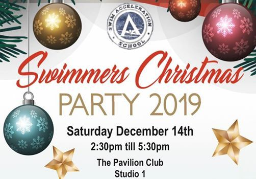 Swim Acceleration Swimmers Christmas Party 2019