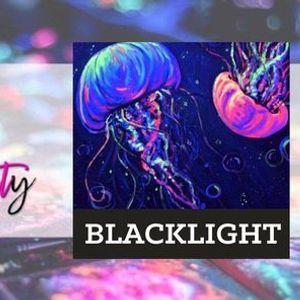 In-Studio Blacklight Jellies Glow in the Dark