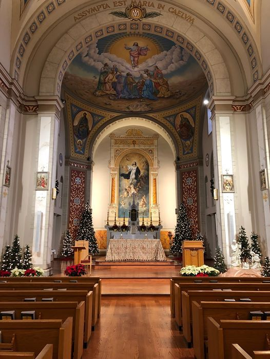 Christmas Midnight Mass at Association of the Miraculous Medal, Perryville