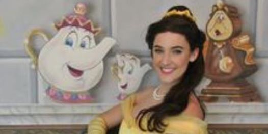 Copy of PRINCESS CHRISTMAS TEA PARTY with BELLE