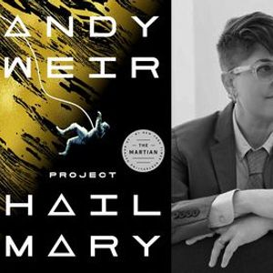 P&P Live Andy Weir  Project Hail Mary with Annalee Newitz