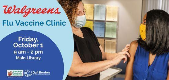 Flu Vaccine Clinic, 1 October   Event in Elgin   AllEvents.in