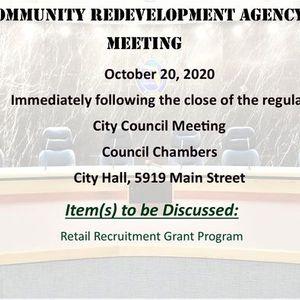Community Redevelopment Agency Meeting