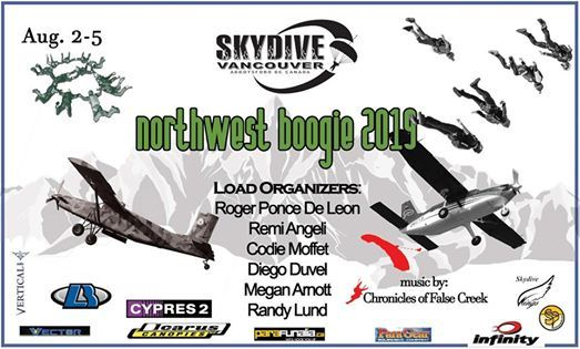 North West Boogie 2019 at Skydive Vancouver, Abbotsford