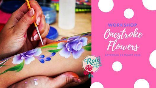 Workshop Onestroke Flowers