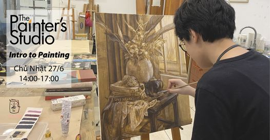 Khai giảng: Lớp Vẽ Màu Cơ Bản - Intro to Painting, 27 June | Event in Hanoi | AllEvents.in