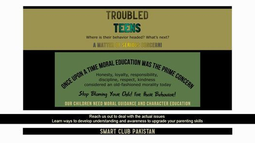 Child Behavior Problems and Solutions!, 1 August | Event in Islamabad | AllEvents.in