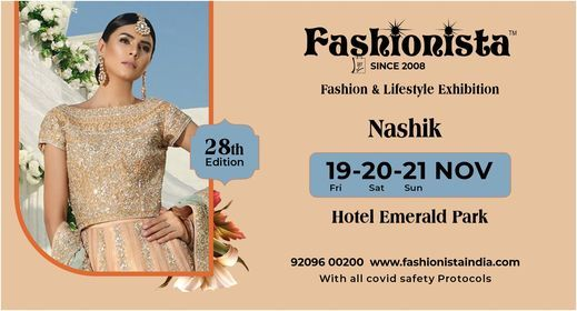 Fashionista Fashion & Lifestyle Wedding Special Exhibition Nashik | Event in Nashik | AllEvents.in