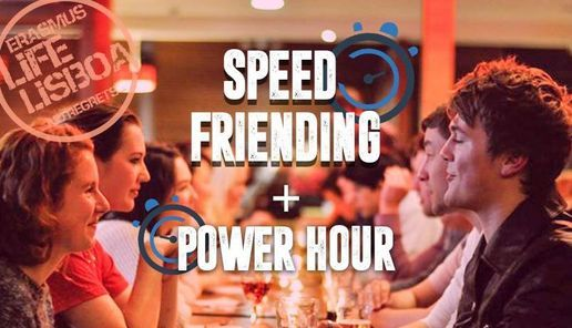 Speed Friending & Power Hour with Erasmus Life Lisboa, 14 October   Event in Seixal   AllEvents.in