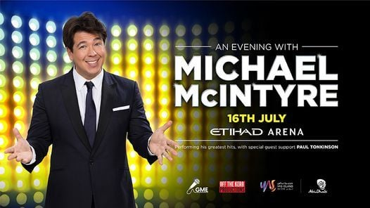 An Evening with Michael McIntyre, 16 July | Event in Abu Dhabi | AllEvents.in