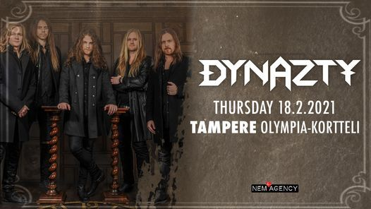 Dynazty (SWE) Thu 5.11.2020 Tampere Olympia-Kortteli