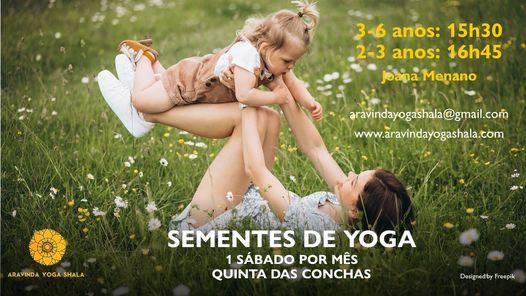 Sementes de Yoga: 2 aos 6 anos, 6 March | Event in Lisbon | AllEvents.in