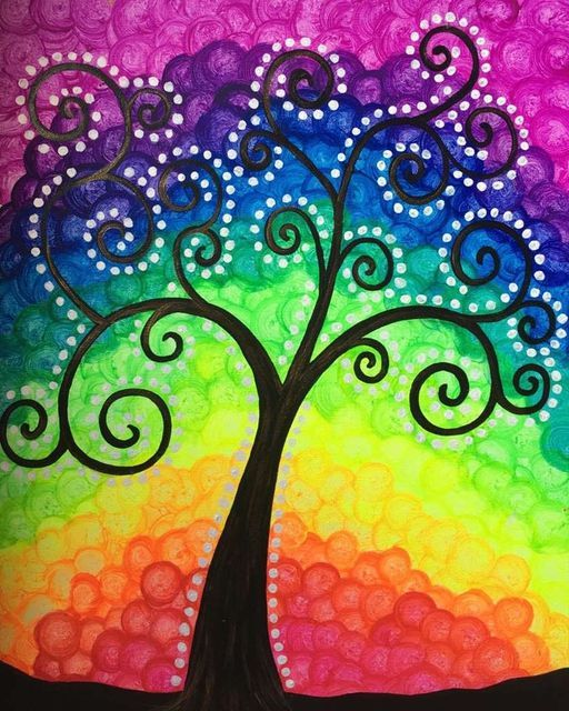 Family Glow in the Dark Paint Night!, 17 October   Event in Tustin   AllEvents.in