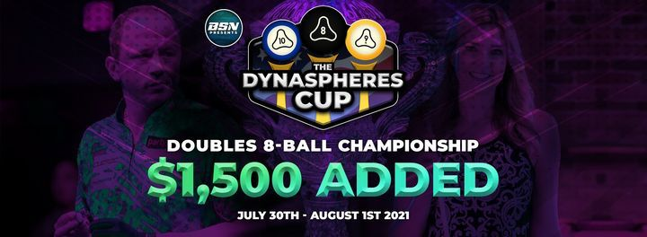 The Dyna|Spheres Cup Doubles 8-Ball Championship- $1,500 ADDED, 31 July | Event in Bowie | AllEvents.in