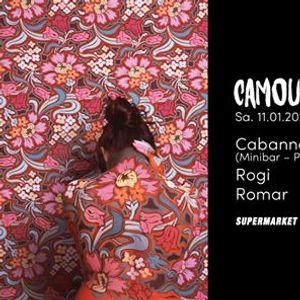 Camouflage wCabanne (Minibar - Paris)
