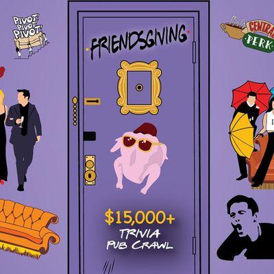 Indianapolis - Friendsgiving Trivia Pub Crawl - 15000 IN PRIZES