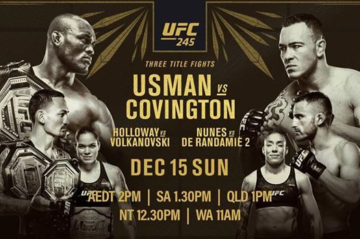 UFC - Usman V Covington