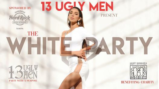 """The 13 Ugly Men present """"The White Party"""", 2 April 