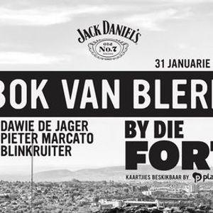 Jack Daniels bied aan Bok van Blerk By Die Fort