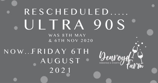 Ultra 90s -Fri 16th April'21-Was May/Nov'20-Tickets available, 16 April | Event in Huddersfield | AllEvents.in