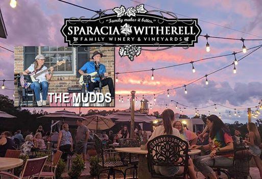 The Mudds Performing at the Vineyard.