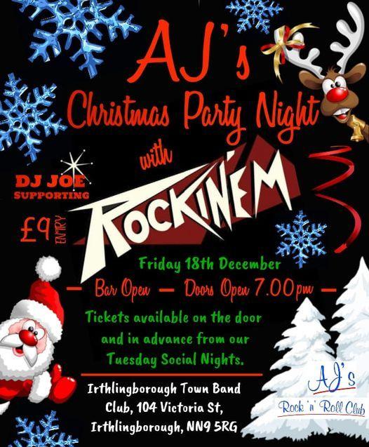 RockinEm AJs Xmas Party Night