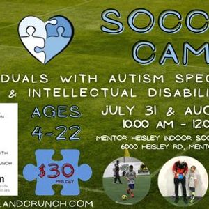 Cleveland Crunch (Share A Vision) Adapted Soccer Camp