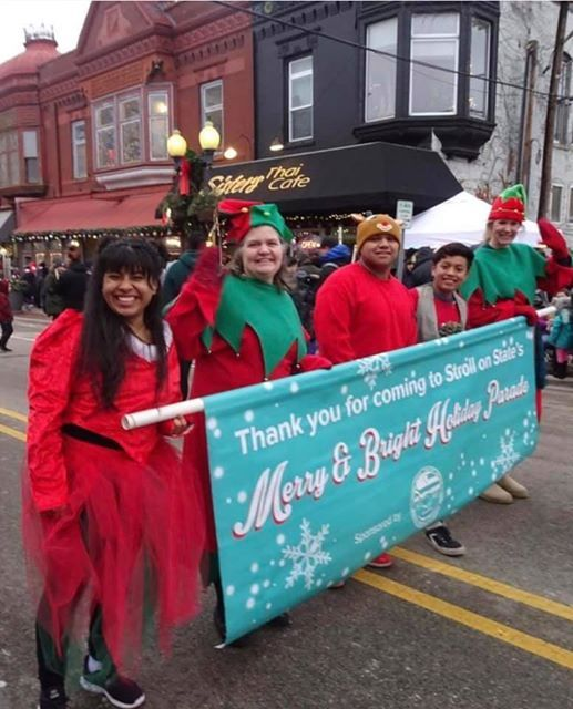 Stroll On State Merry  U0026 Bright Holiday Parade At 401 S